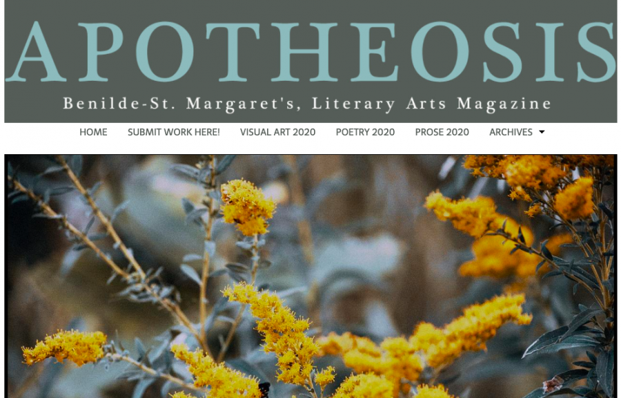 The home page of Apotheosis features images from this year