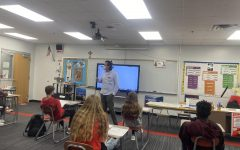 Profe Eric Luna-Martin teaches Spanish class at BSM, but this year, he is also teaching Catalan.
