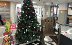 The BSM lobby welcomes gift donations for Toys for Tots