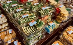 Grocery stores stock up on holiday treats as the Christmas season rapidly approaches.