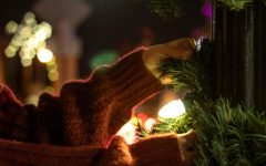 Hanging lights is a yearly tradition that spruces up daily life with bright colors and festive environments.