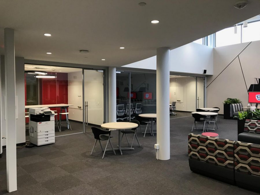 The Cube is one of the new spaces funded by the most recent capital campaign.