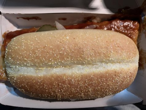 The deceptive facade of a McDonald's McRib cannot fool the consumer; this is a vile product that much be avoided at all costs.