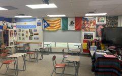 An empty Spanish room awaits students
