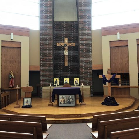 The BSM chapel inspires students to live out their faith.