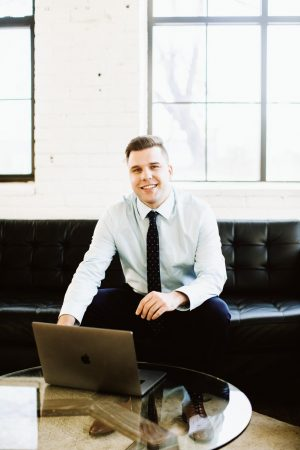 BSM graduate Denis Beaird has started a technology business and nonprofit designed to give back.