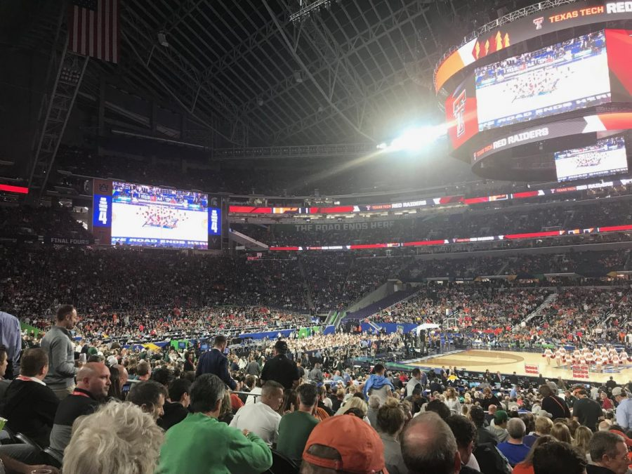 Texas Tech and Michigan State battled to reach the Championship game in 2019's final four matchup in Minneapolis.