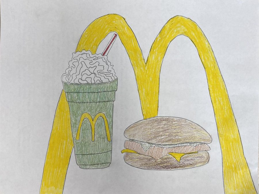 The pairing of the Filet-O-Fish and Shamrock shake is a culinary work of art.