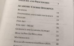 The BSM course offerings need an update.