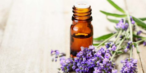 Lavender essential oil is a great way to relieve stress.