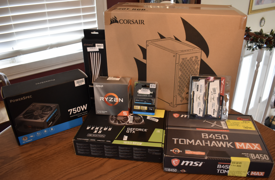 Components for PCs are hard to find.