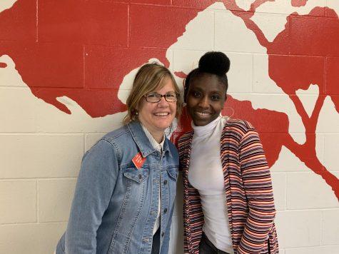 Teachers Michelle Leblanc and Ms. Andretta Hanson have a relationship that spans decades.
