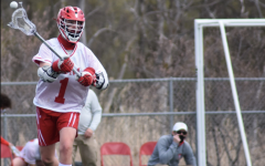 Sophomore Carson Brandt made the leap from youth lacrosse to varsity: a unique experience caused by the cancellation of last year's season.