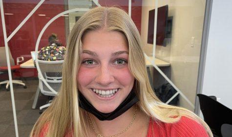 Sophomore Lauren Benedict loves Chick-Fil-A.