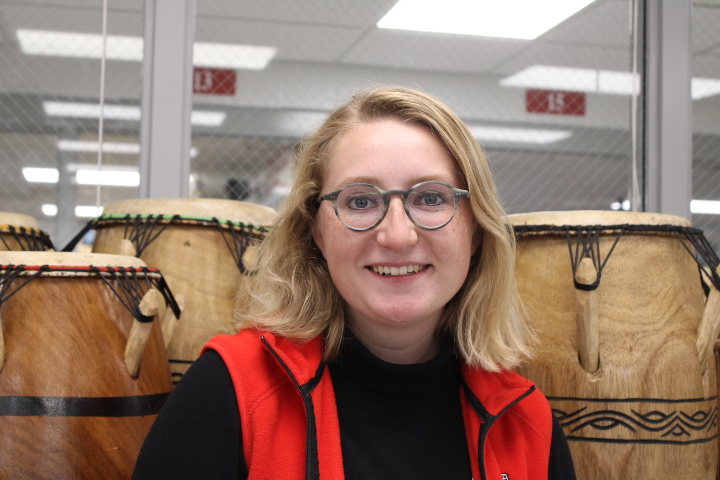 After+teaching+music+in+the+junior+high%2C+Ms.+Chmielewski+joins+the+senior+high+music+department.