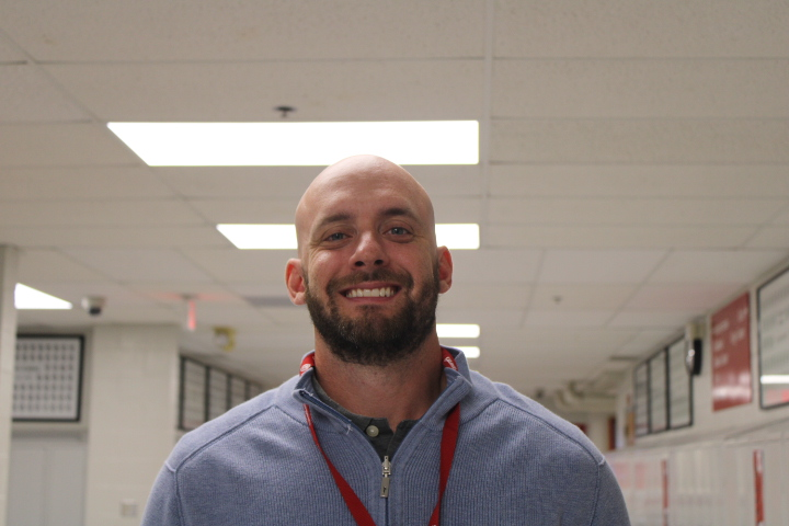 Mr. Canavati joins the BSM English department.