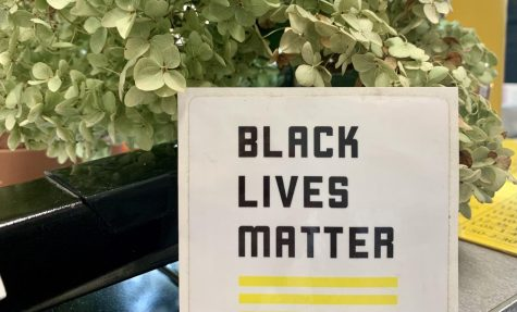 Although teachers were allowed to display Black Lives Matter materials last year, BSM has now prohibited this practice.