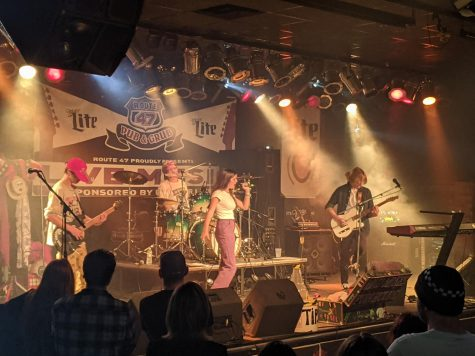 Local band No Press Repeat opens its biggest gig yet at Route 47 Pub & Grub.
