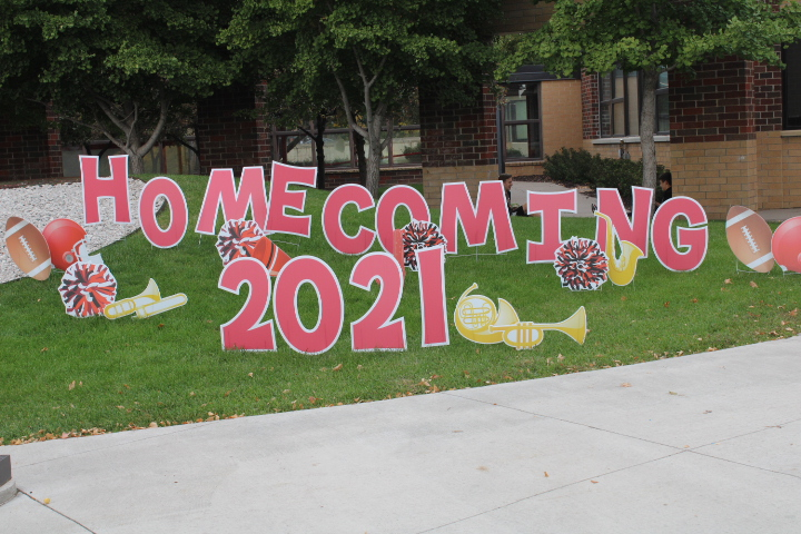 This year BSM will host the majority of homecoming outside around campus.
