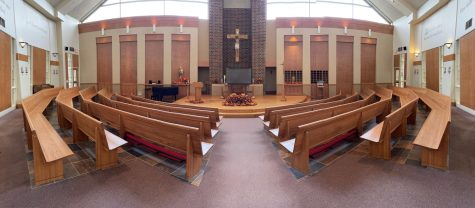 The Benilde-St. Margarets chapel was where the senior meeting was held on Wednesday October 7th.