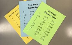 This year, BSM classrooms are adorned with a plethora of specific schedules.