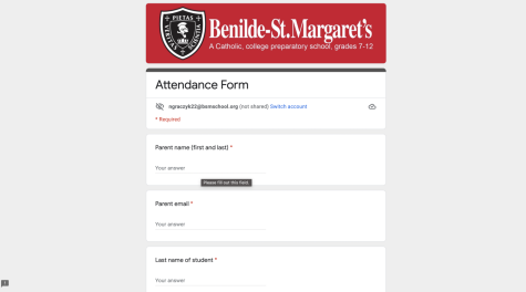 The new attendance system is done through a Google form.