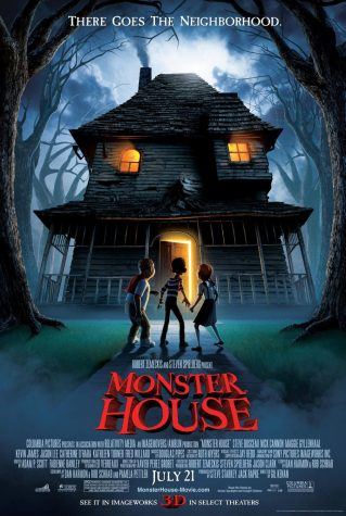 The cover of Monster House.