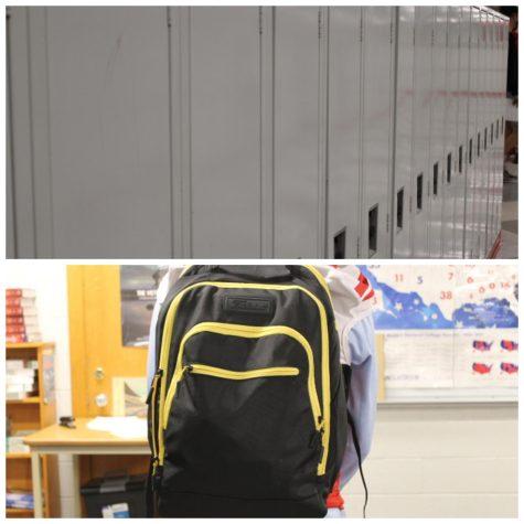 Lockers vs. Backpacks: the battle of the better storing method