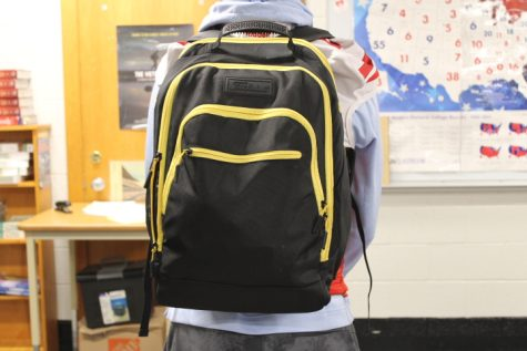 BSM students no longer have the option to carry backpacks around throughout the day.